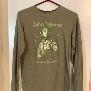 John Lennon Graphic Tee Ladies Medium